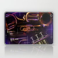 The Trumpet Glow Laptop & iPad Skin