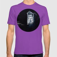 She Lived Here Once Mens Fitted Tee Ultraviolet SMALL