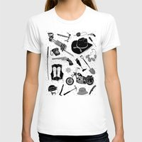 walking dead T-shirts featuring Artifacts: Walking Dead by Josh Ln