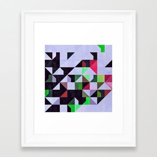 Ybsyssx Framed Art Print