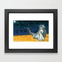 Sailor GhostBabe Framed Art Print