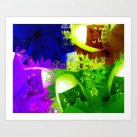 January Art Show 2010 Art Print