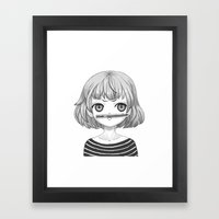I Don't Know What To Dra… Framed Art Print