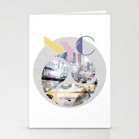 TRENDY DESIGN New York City | Geometric Mix No 1 Stationery Cards
