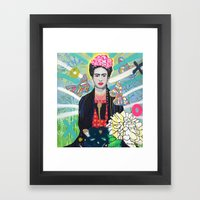 Frida Kahló Framed Art Print