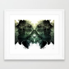 Test De Rorschach Framed Art Print