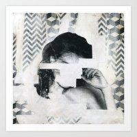 Torn 1 Art Print