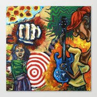 Canned Jazz Canvas Print