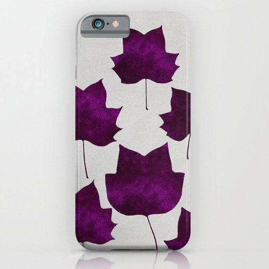 Mapleleaf Purple iPhone & iPod Case