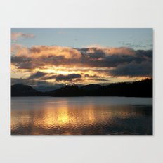 Fading Away Canvas Print