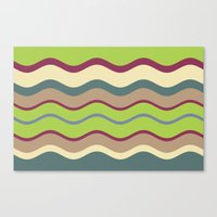 Appley Wave Canvas Print