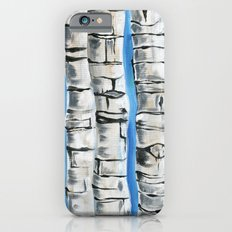 Birch Trees iPhone 6s Slim Case
