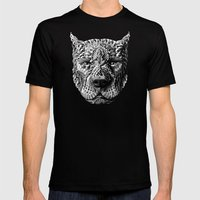 Pitbull Mens Fitted Tee Black SMALL