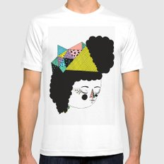 RainbowkitekidsStar Mens Fitted Tee SMALL White