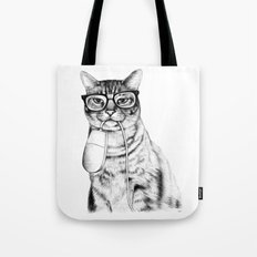 Mac Cat Tote Bag