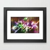 Pure - Original Mood Framed Art Print