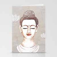 Buddha Concentrate Stationery Cards