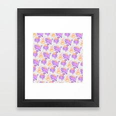 BEHEMOTH PATTERN Framed Art Print