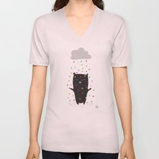 The Happy Rain Unisex V-Neck