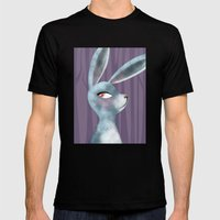 Bunny Mens Fitted Tee Black SMALL