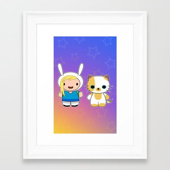 Hello Fionna Framed Art Print