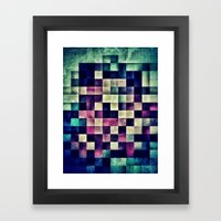 Unpixel Framed Art Print