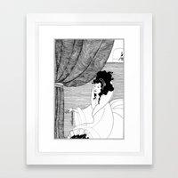 Art Nouveau Posters: The Arrival Framed Art Print