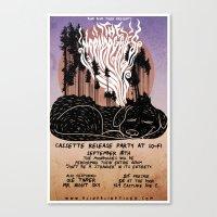 The Moondoggies Concert … Canvas Print