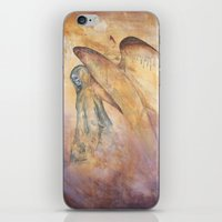 Angel Of Death Painting iPhone & iPod Skin