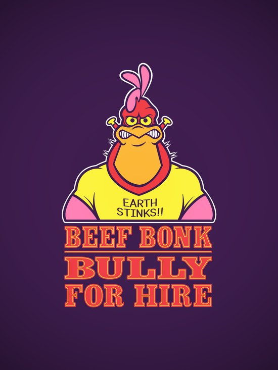 Bully For Hire Art Print