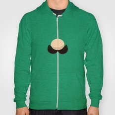 Green Face Hoody