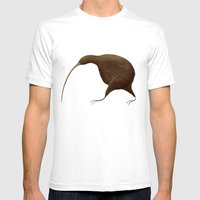 Its a Kiwi Mens Fitted Tee White SMALL