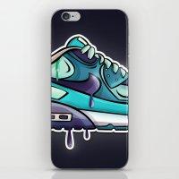 Nike air drop iPhone & iPod Skin