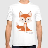 Fritz The Fox Mens Fitted Tee White SMALL