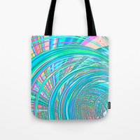 Re-Created  Hurricane 7 by Robert S. Lee Tote Bag