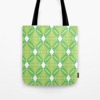 Abstract [GREEN] Emerald… Tote Bag