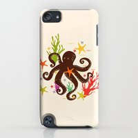iPod Touch Cases featuring Friends around the sea by Strawberringo