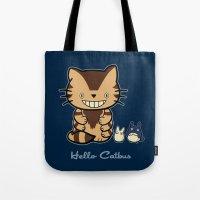 Hello Catbus Tote Bag