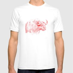 Ox SMALL White Mens Fitted Tee