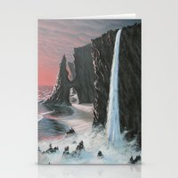 Edge Of The Sea Stationery Cards