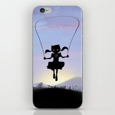 Cat Kid iPhone & iPod Skin