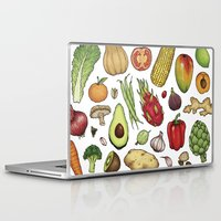food Laptop & iPad Skins featuring Food by Sam Magee