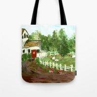 Ash Mill Farm Tote Bag