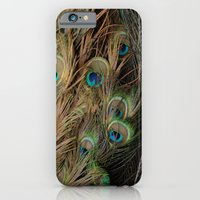 iPhone & iPod Case featuring Peacock #1 by Alicia Bock