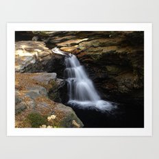 Little Falls  Art Print
