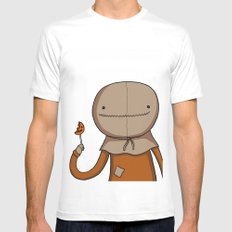 Adventure Time with Sam Mens Fitted Tee SMALL White