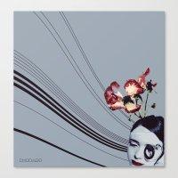 Piano Girl Canvas Print