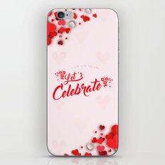 Let's Celebrate iPhone & iPod Skin