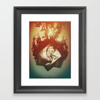 Claustrophobia I Framed Art Print