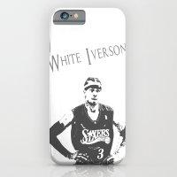 White Iverson iPhone 6 Slim Case